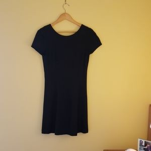 Banana Republic Black Flare dress size 6